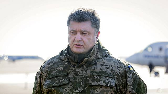 Poroshenko proposes international peacekeepers for eastern Ukraine
