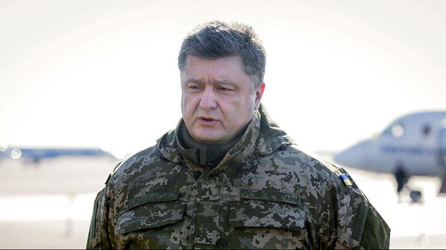 Kiev pide la ayuda de un contingente internacional para el mantenimiento del alto el fuego