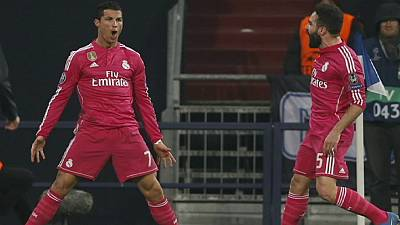Champions League last-16: Real Madrid a step closer to quarter finals