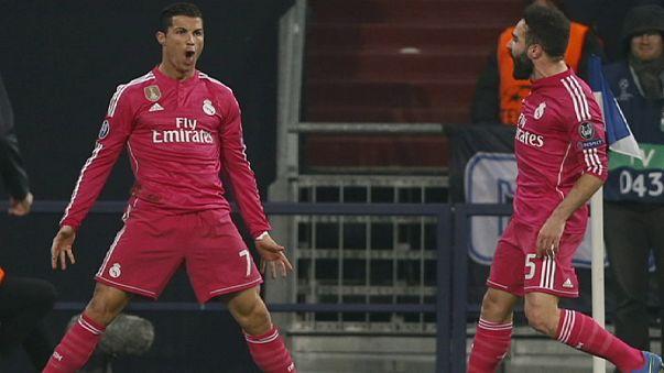 Champions League: vince il Real, beffato il Basilea