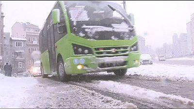 300 vuelos de Turkish Airlines cancelados en Estambul por las nevadas