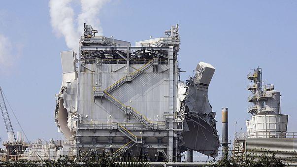 Взрыв на заводе ExxonMobil в Калифорнии