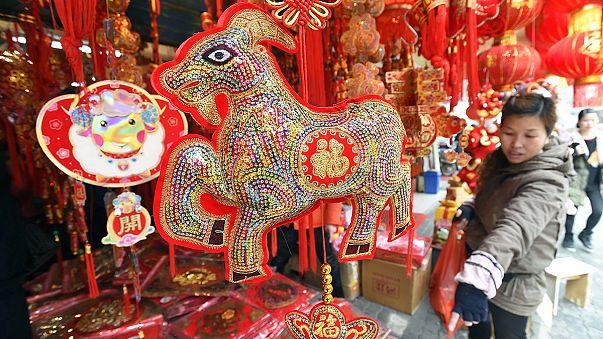La Chine célèbre la nouvelle année, celle de la Chèvre.