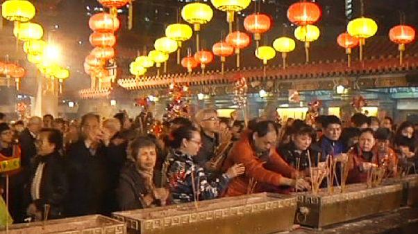 Hong Kong celebra el Año Nuevo lunar