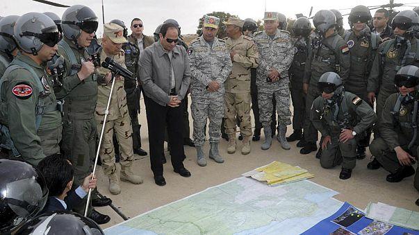 Egipto defiende sus bombardeos en Libia