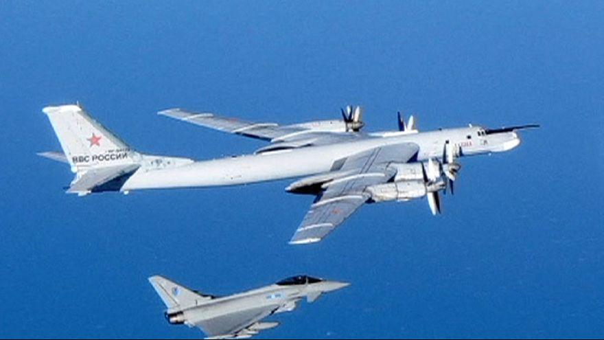 Interceptados otros dos bombarderos rusos cerca de Reino Unido