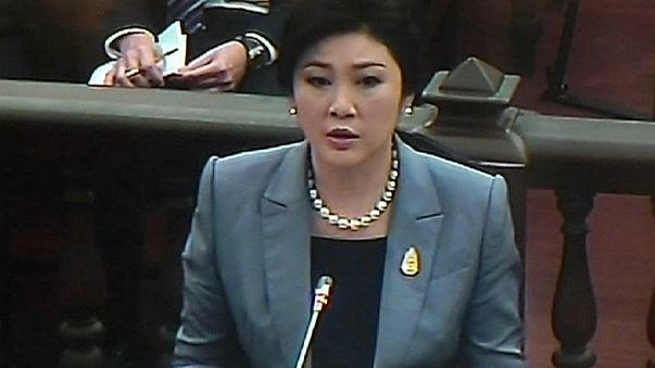 La exprimera ministra tailandesa Shinawatra, acusada de negligencia por la Fiscalía