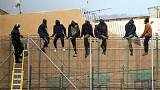 100 immigrants in mass attempt to enter North African Spanish enclave