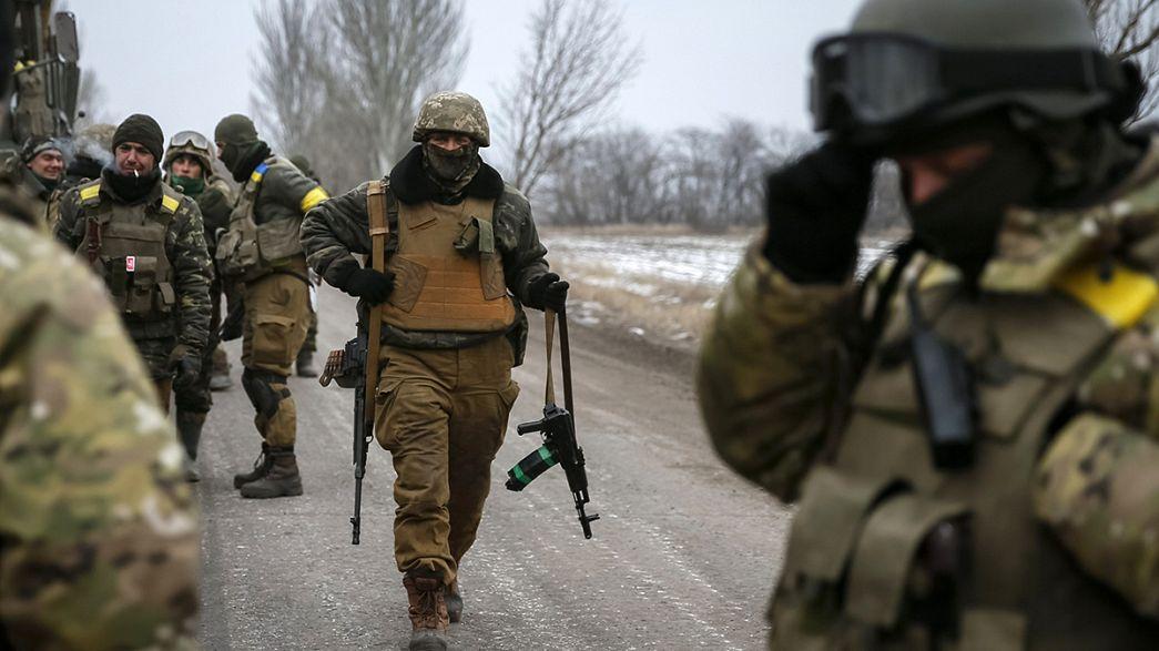Ukraine : les séparatistes pro-russes pavoisent à Debaltseve