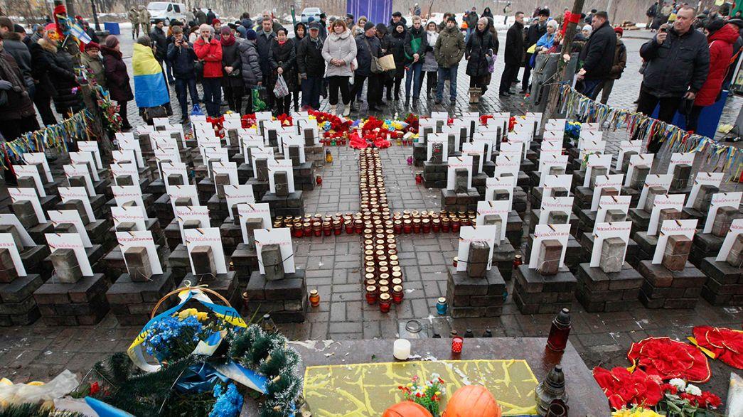 Um ano depois, famílias querem justiça pelas vítimas em Maidan