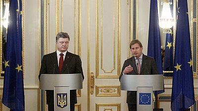 Ucrania pide una fuerza de paz europea, Rusia quiere solo a observadores de la OSCE