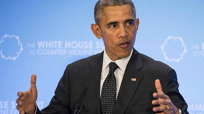"""أوباما :"""" نحن لسنا في حرب ضد الإسلام ولكننا في حرب ضد من شوهه """""""