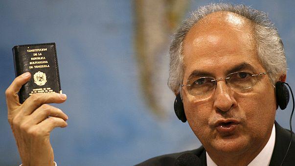 Detienen al alcalde metropolitano de Caracas, el opositor Antonio Ledezma