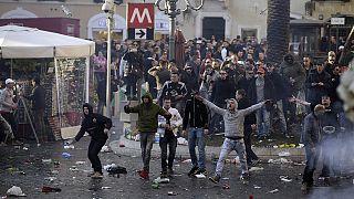 Ιταλία: Επέλαση Ολλανδών χούλιγκαν στη Ρώμη