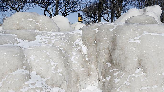 Резкое похолодание в США и Канаде