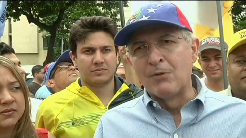 Detenido el alcalde de Caracas por los servicios de inteligencia venezolanos
