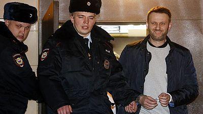 Russia, l'oppositore Alexey Navalny condannato a 15 giorni di prigione