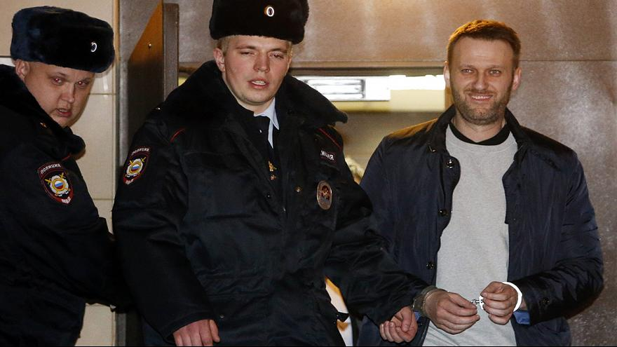 السجن 15 يوماً للمعارض الروسي نافالني