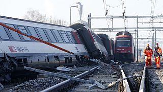 Svizzera, 49 feriti per un incidente ferroviario a nord di Zurigo