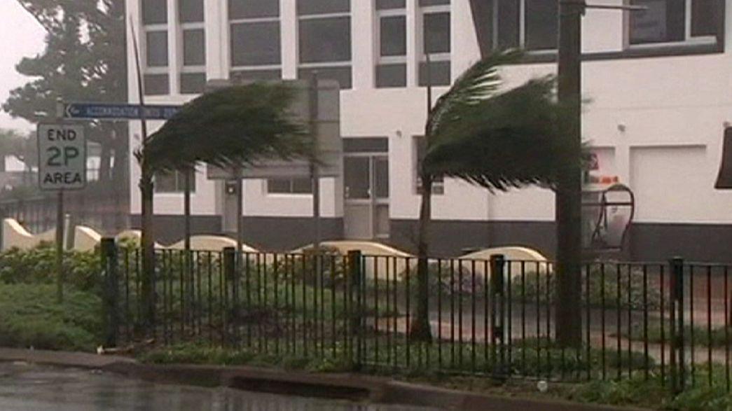 Austrália atingida por dois ciclones em simultâneo