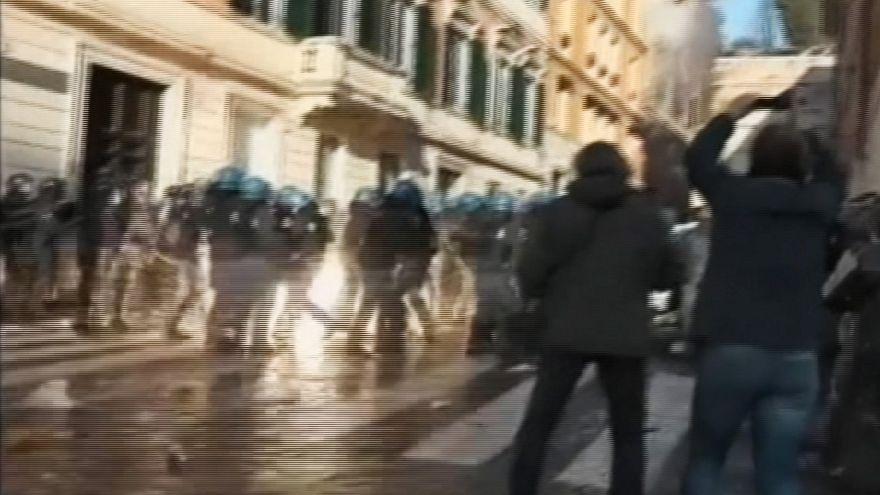 Feyenoord supporters wreak havoc in Rome