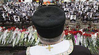 Ουκρανία: Ένας χρόνος από την πιο αιματηρή διαδήλωση στη  Μαϊντάν