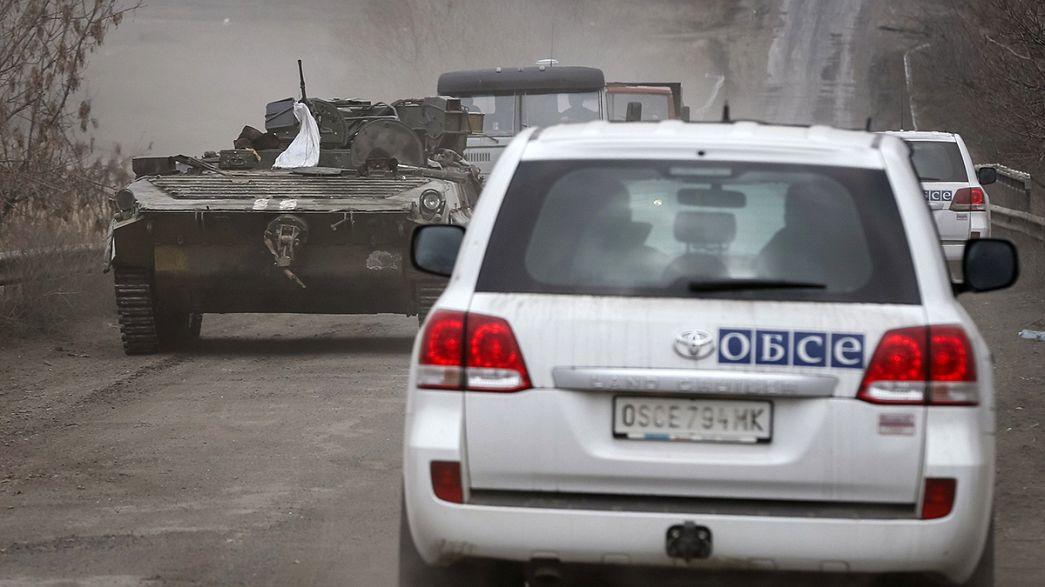 Ucraina: l'OSCE denuncia ripetute violazioni della tregua
