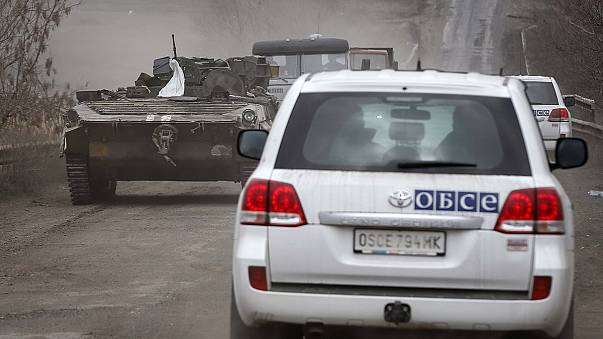 """""""There is a general ceasefire but there are exceptions,"""" says OSCE on Ukraine truce"""