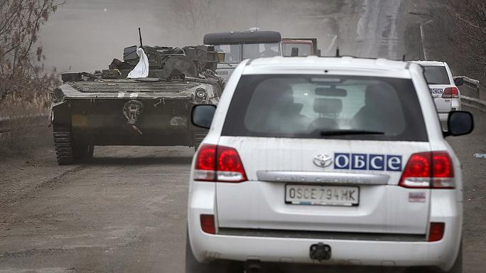 """There is a general ceasefire but there are exceptions,"" says OSCE on Ukraine truce"