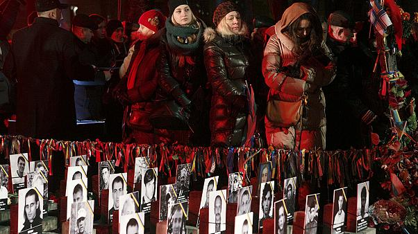 Kyiv lights up in remembrance of Maidan 'Heavenly Hundred'