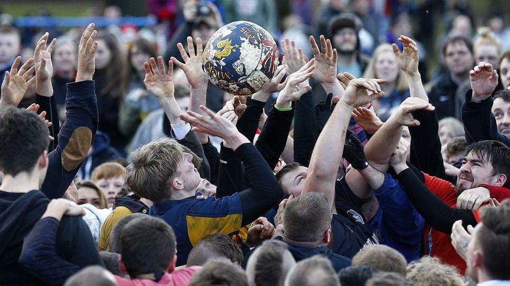 Le football, version ancestrale