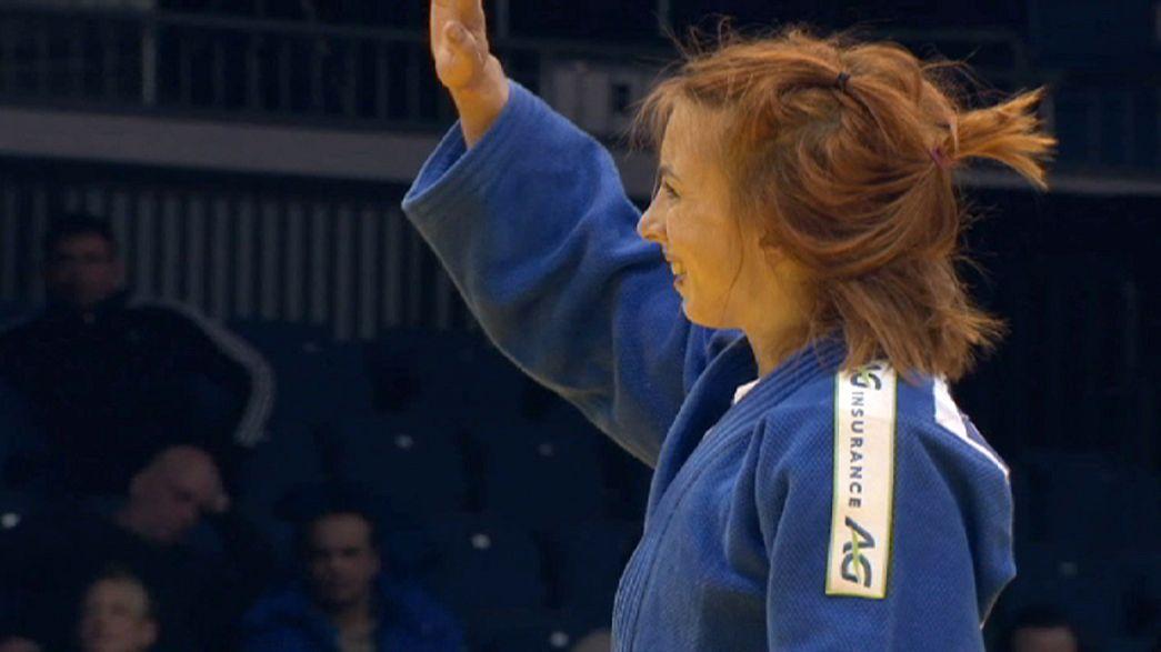 Judo: Mareen Kräh gewinnt Bronze in Düsseldorf