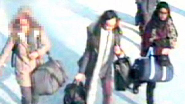 İngiliz ve Türk polisi Suriye yolcusu 3 kızın peşinde