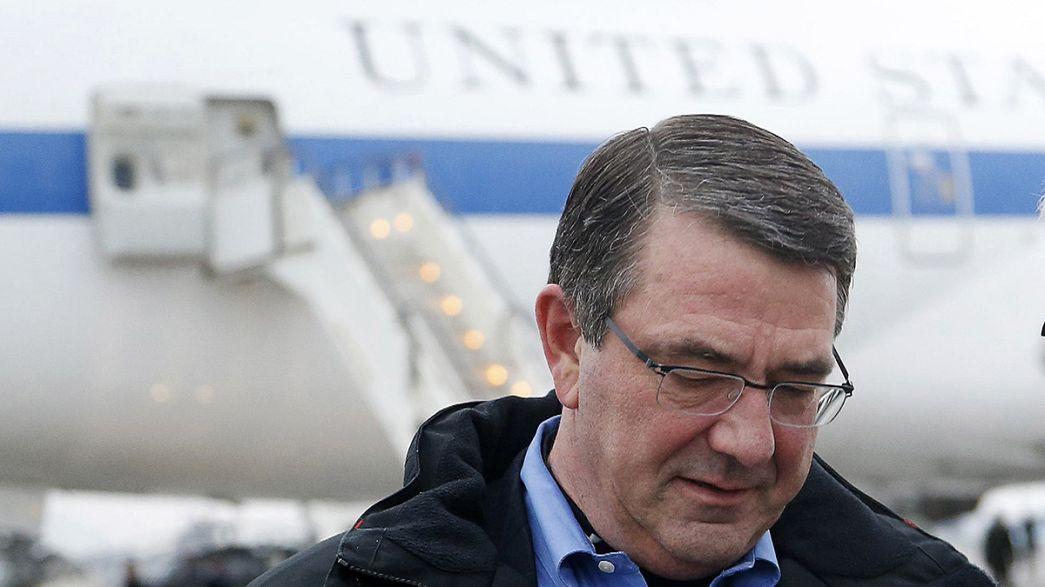 Ash Carter llega a Kabul, para discutir los plazos de retirada del ejército de EEUU de Afganistán