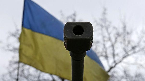 Calma relativa en el frente del este de Ucrania.