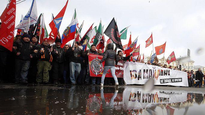 Démonstration de force du mouvement anti-Maïdan à Moscou