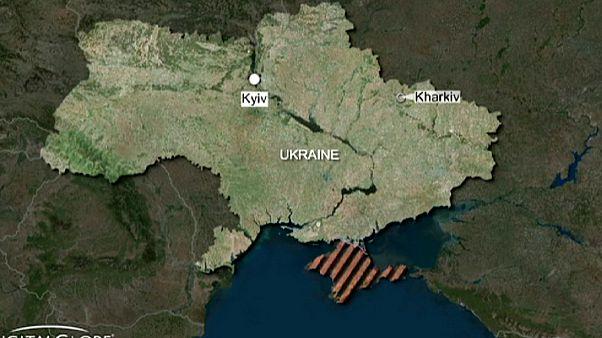 Sprengstoffanschlag auf Demonstration in Charkiw