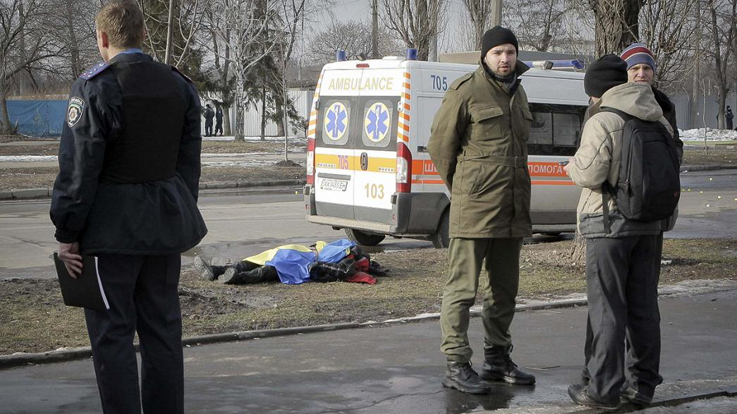 مقتل شخصين في انفجار  أثناء مسيرة بخاركيف، واعتقال  مشتبه بهم