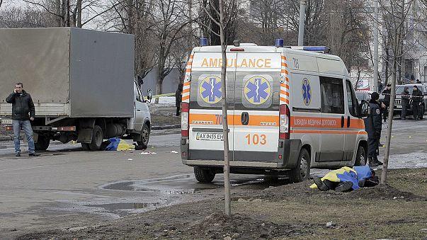 Négy gyanúsítottat vettek őrizetbe a harkivi terrortámadás után