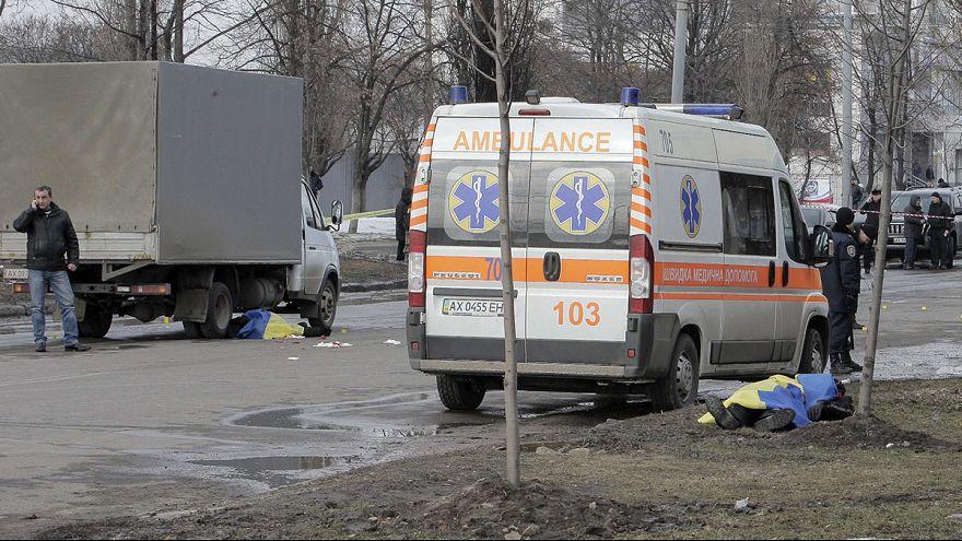 L'anniversaire de Maïdan endeuillé par une explosion à Kharkiv