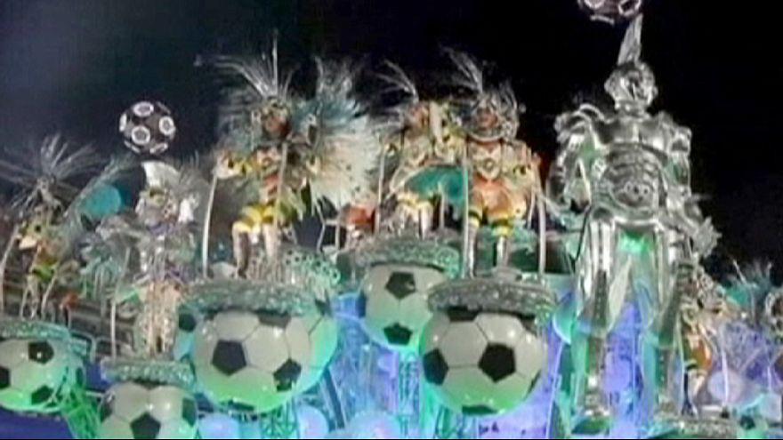 Großes Finale beim Karneval in Rio