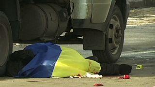 Ukraine: Blast strikes peaceful Kharkiv rally