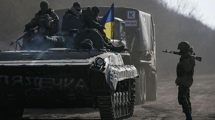 Донбасс: прекращение огня не соблюдается