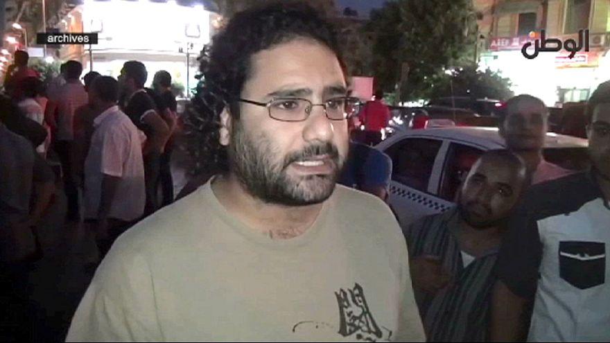 Cinco años de cárcel para el activista egipcio Alaa Abdelfatah