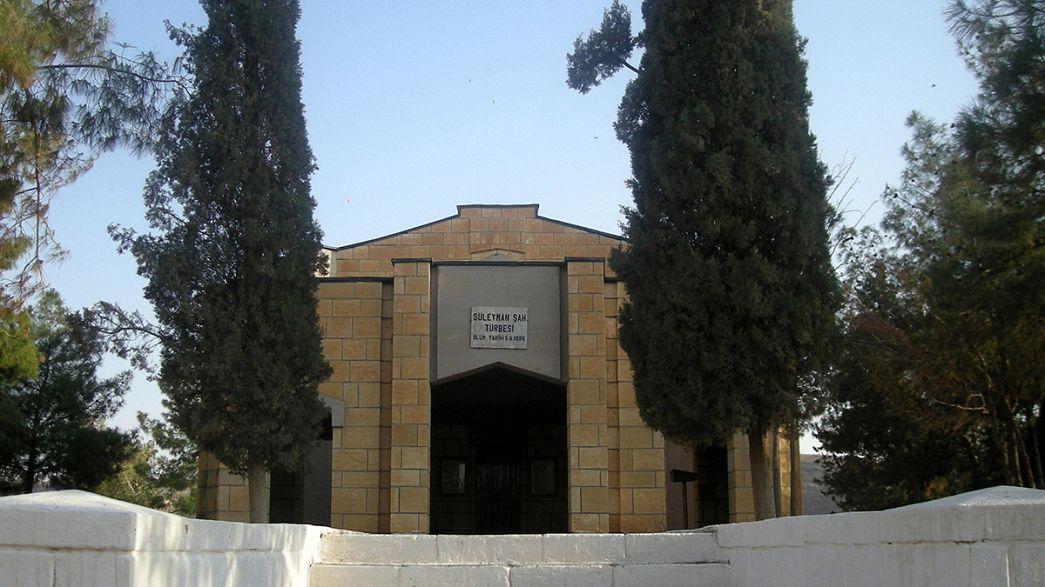 Szíria és Irán elítélte a török sírmentő akciót
