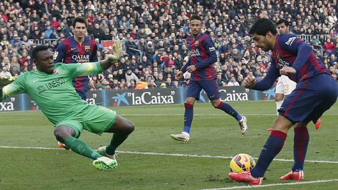 ذو كورنر: هزيمة قاسية لبرشلونة وفوز ساحق لمانشيستر سيتي