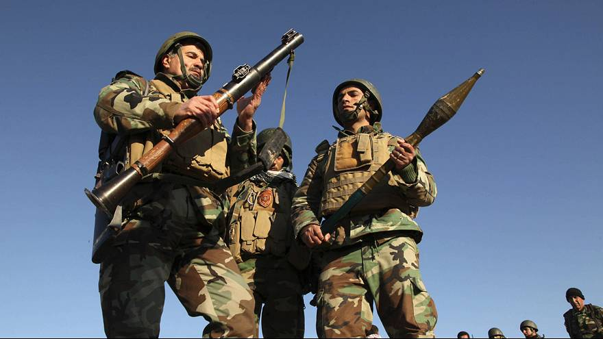 Kurdische Kämpfer drängen IS-Miliz zurück