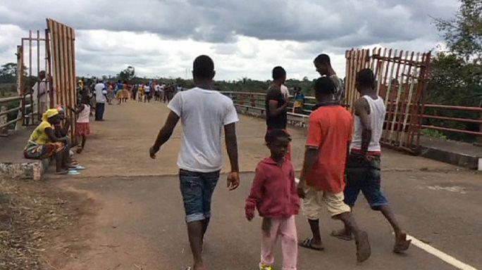 Liberya Sierra Leone sınırını açtı