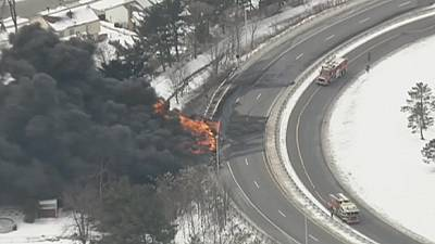 USA: Almost 9,000 gallons of petrol go up in smoke