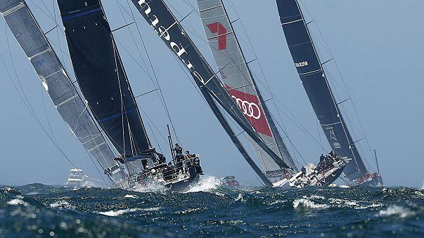 Yelken: Volvo Okyanus Yarışı'nda 4. etap sona yaklaştı